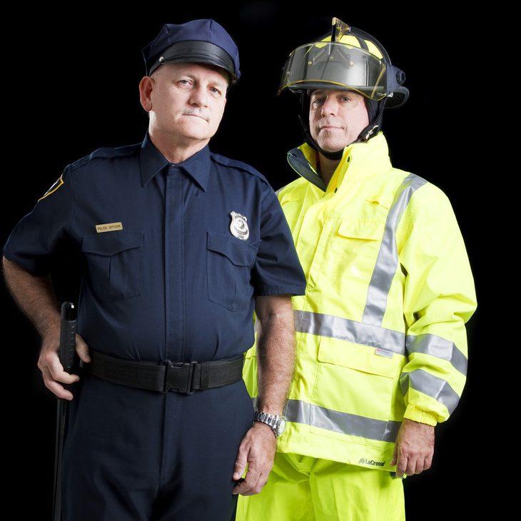fireman police